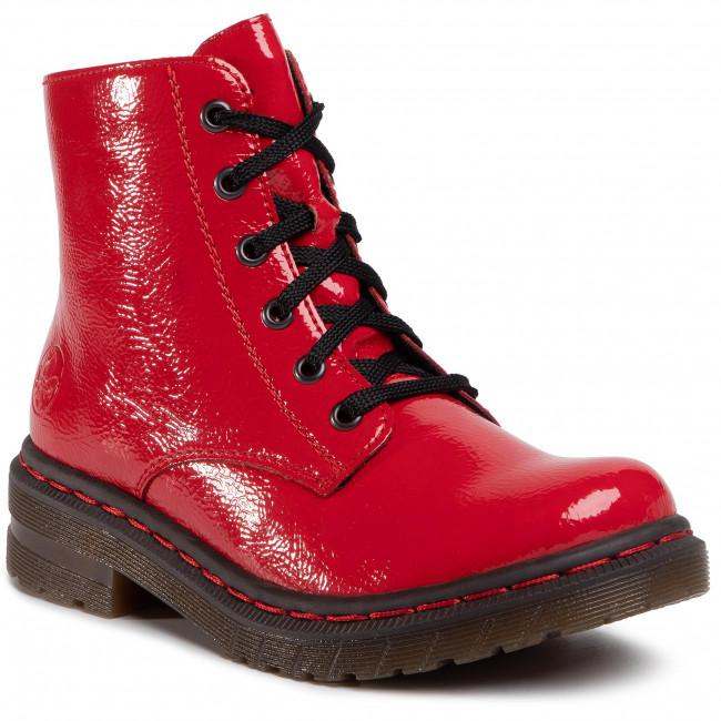 Členková obuv RIEKER - 76240-33  Rot