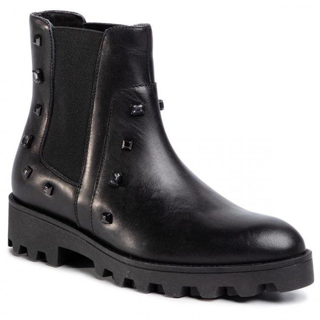 Kotníková obuv s elastickým prvkom GINO ROSSI - Sumi DSI174-420-E100-9900-F 99