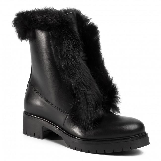 Členková obuv GINO ROSSI - Donata DTI010-R78-E100-9900-F 99