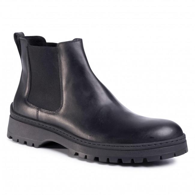 Kotníková obuv s elastickým prvkom GINO ROSSI - Toro MSU215-293-0414-9900-F 99