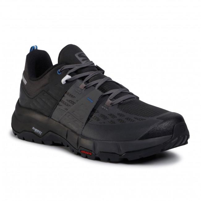 Trekingová obuv SALOMON - Odyssey 411453 27 V0 Black/Magnet/Imperial Blue