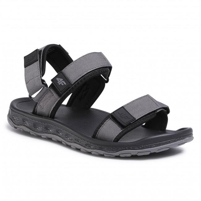 Sandále 4F - H4L20-SAM001 Sivá
