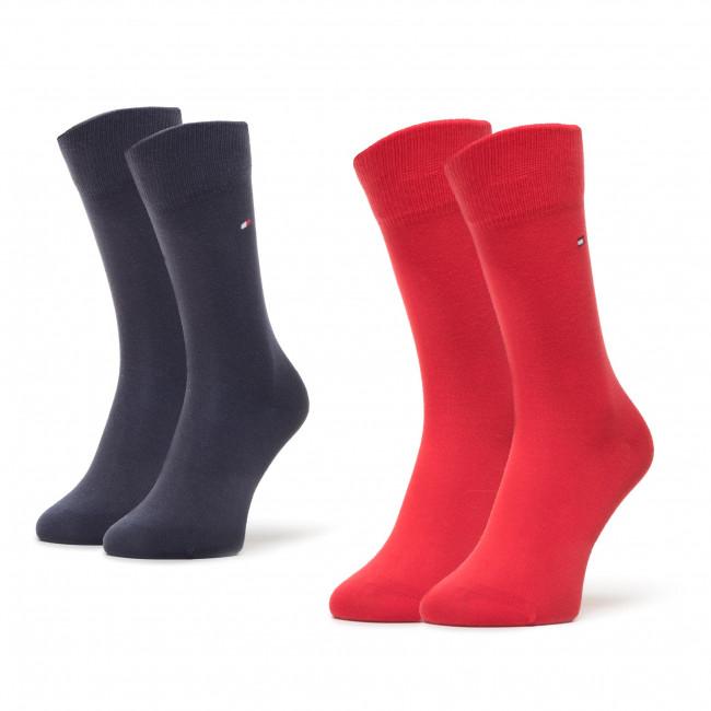 Súprava 2 párov vysokých ponožiek detských TOMMY HILFIGER - 391334  085