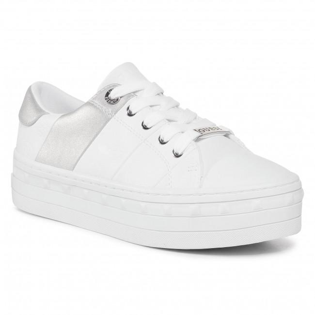 Sneakersy GUESS - Bustin  FL8BUS FAL12  WHITE