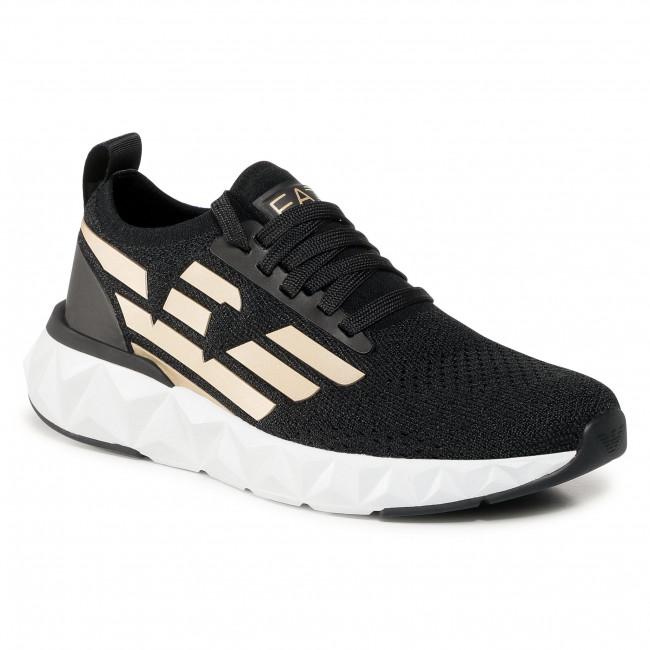 Sneakersy EA7 EMPORIO ARMANI - X8X048 XK113 M700 Black/Gold
