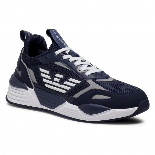Sneakersy EA7 EMPORIO ARMANI - X8X070 XK165 N527  Navy/White