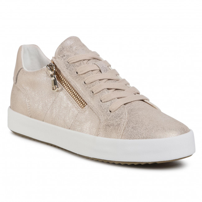 Sneakersy GEOX - D Blomiee A D026HA 0PVBC C2012 Lt Gold