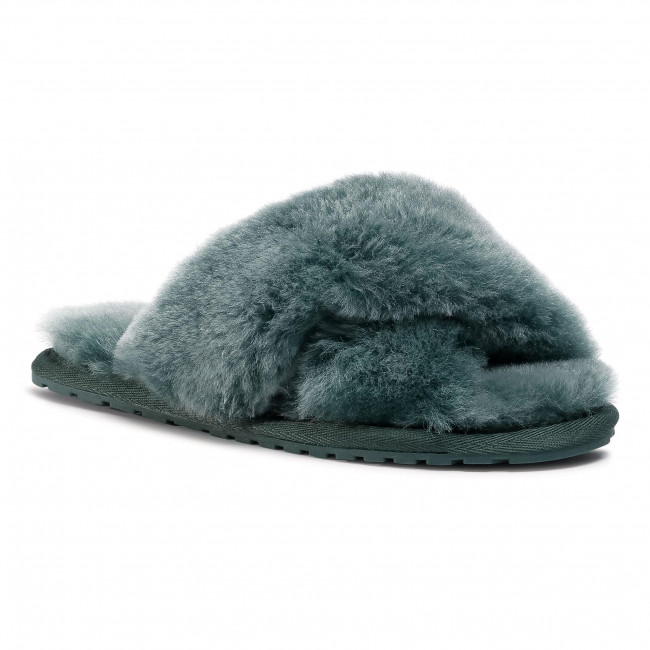 Papuče EMU AUSTRALIA - Mayberry Frost W12013 Deep Teal/Sarcelle