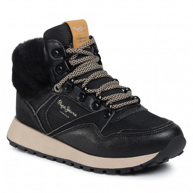 Sneakersy PEPE JEANS - Dean City PLS31083  Black 999