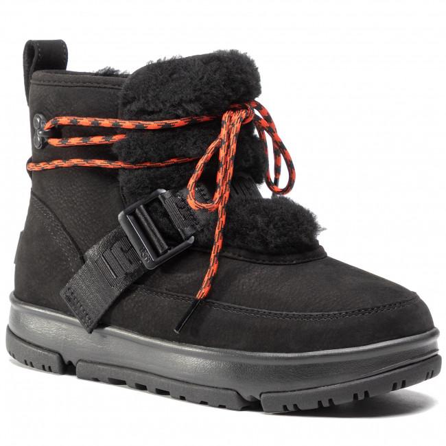 Členkové čižmy UGG - W Classic Weather Hiker 1112477  Blk