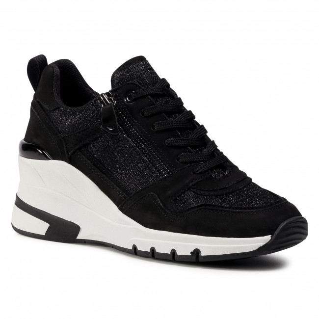 Sneakersy CAPRICE - 9-23710-25 Black Comb 019