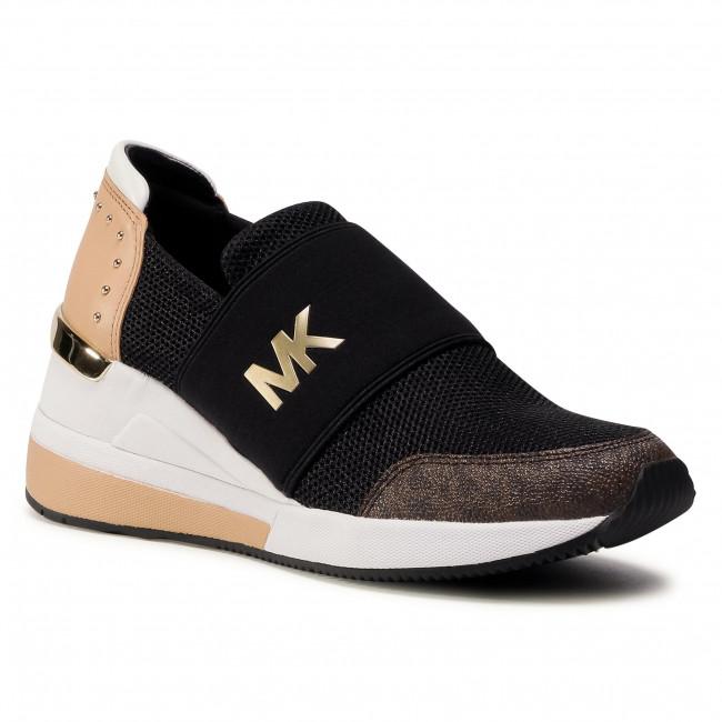 Sneakersy MICHAEL MICHAEL KORS - Felix Trainer 43T0FXFS4D Black Multi