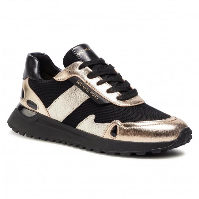 Sneakersy MICHAEL MICHAEL KORS - Monroe Trainer 43T0MOFP1D  Blk/Palegold
