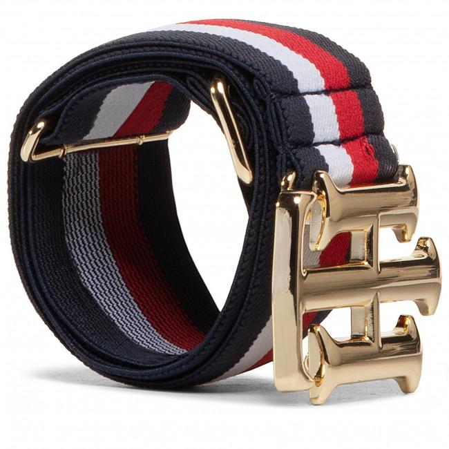 Opasok Dámsky TOMMY HILFIGER - Logo Elastic Waist Belt 4.0 AW0AW08931 0K4
