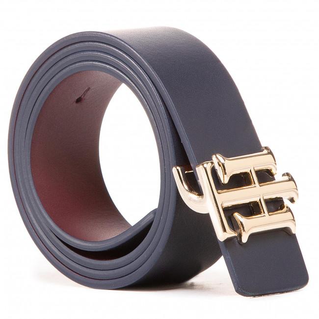 Opasok Dámsky TOMMY HILFIGER - Th Logo Reversible Belt 3.0 AW0AW08933 0GZ