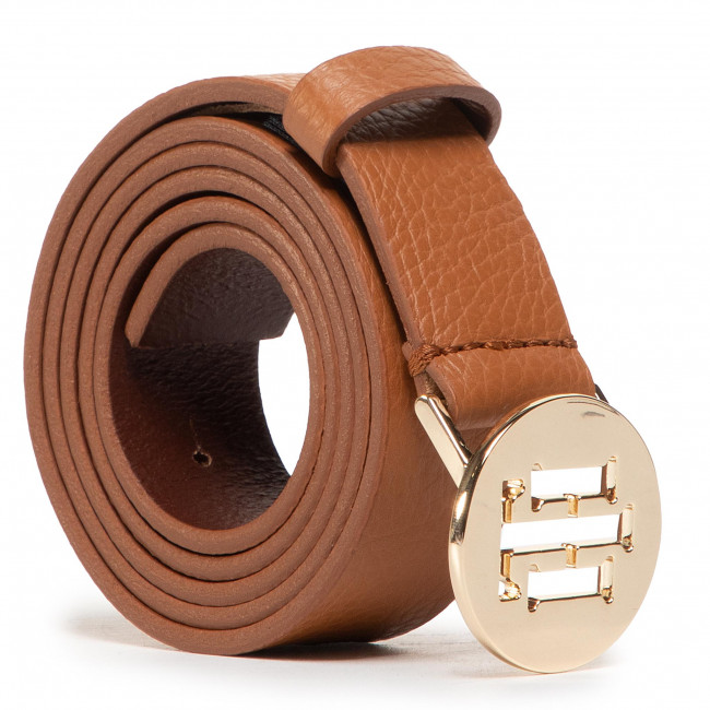 Opasok Dámsky TOMMY HILFIGER - Th Round Belt 3.0 AW0AW08939 GB8