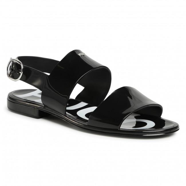 Sandále HUGO - Emma 50435374 10228260 01 Black 001