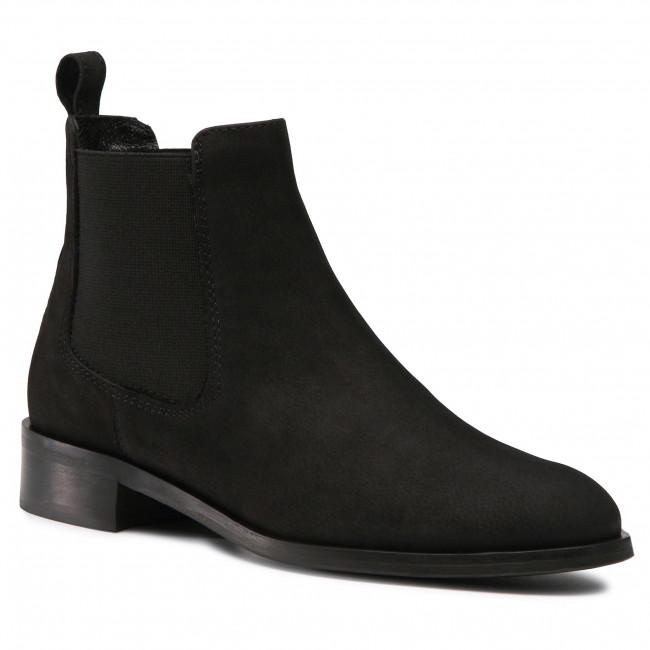 Kotníková obuv s elastickým prvkom QUAZI - QZ-73-05-000896 401