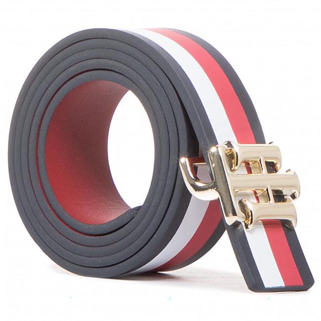 Opasok Dámsky TOMMY HILFIGER - Th Logo Reversible Belt 3.0 Corp AW0AW09308 0GY