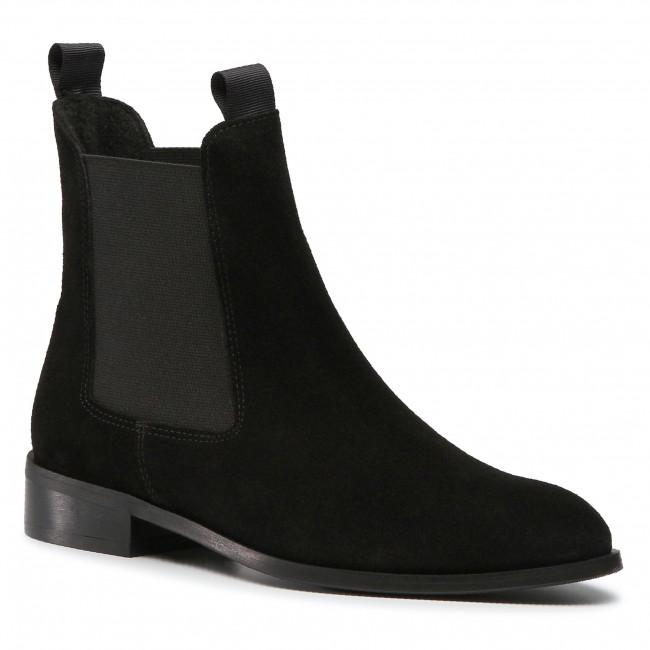 Kotníková obuv s elastickým prvkom QUAZI - QZ-73-05-000932 601