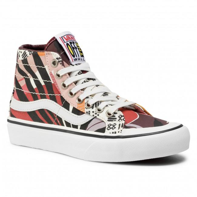 Sneakersy VANS - Sk8-Hi 138 Decon VN0A3MV122P1 (Palm Floral)Prtrylmshmlw