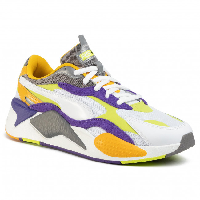 Sneakersy PUMA Rs X3 Level Up 373169 01 Puma WhiteLimepunch