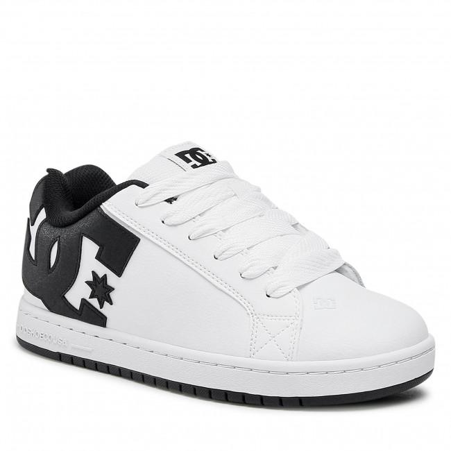 Sneakersy DC - Court Graffik 300529 White/Black/Black(Wlk)