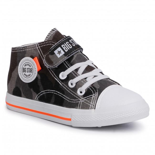 Sneakersy BIG STAR - FF374125 White/Black