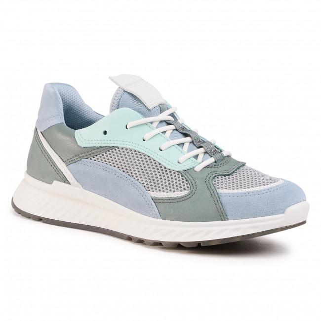 Sneakersy ECCO - ST.1 W 83627351890 Dusty Blue/White/Concrete/Lake