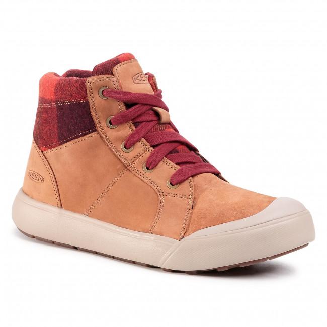 Sneakersy KEEN - Elena Mid 1022033 Thrush/Plaid