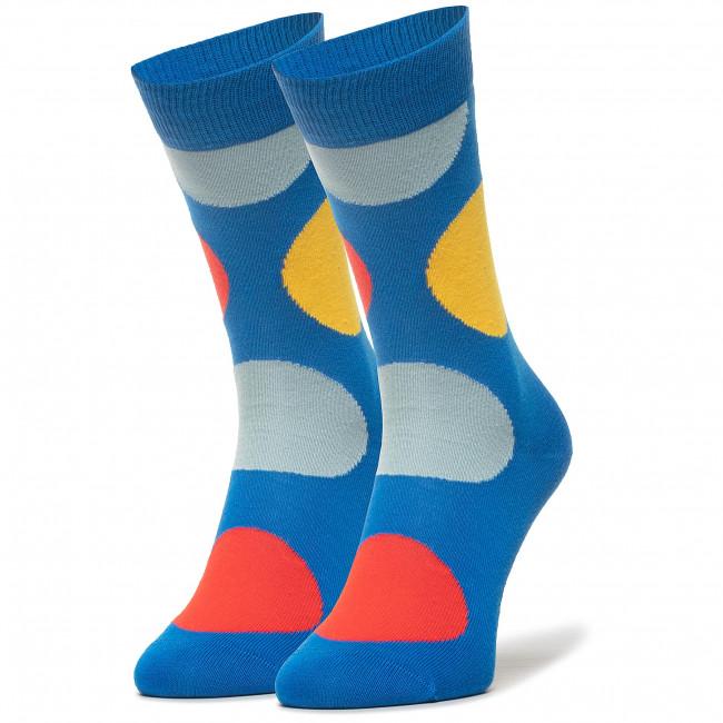 Ponožky Vysoké Unisex HAPPY SOCKS - JUB01-6300 Farebná Modrá