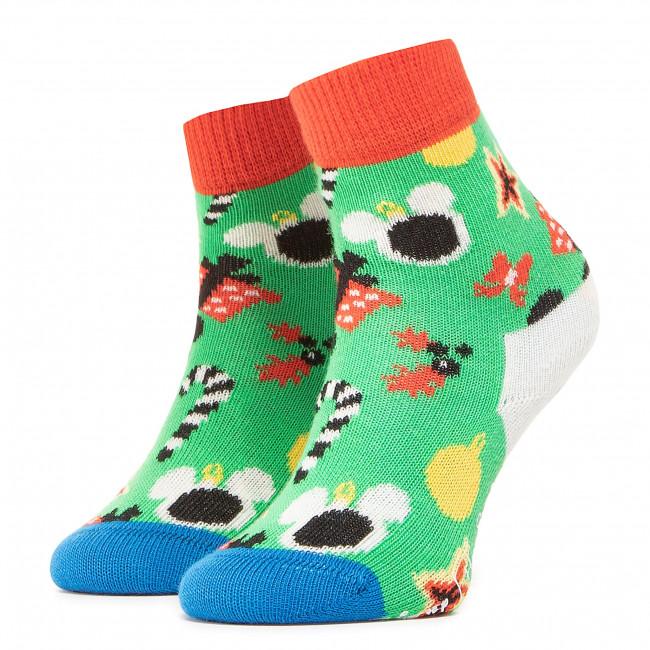 Ponožky Vysoké Detské HAPPY SOCKS - KDNY01-7000 Farebná Zelená