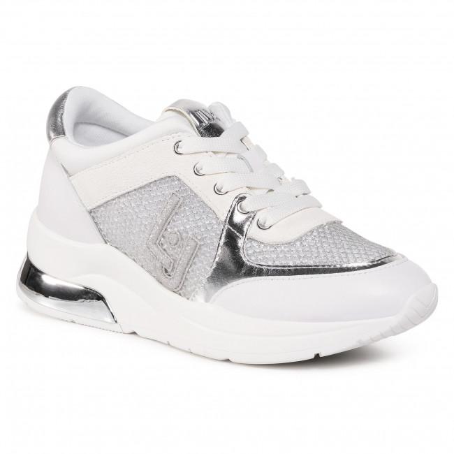 Sneakersy LIU JO - Karlie 12 BF0027 TX003 White 01111