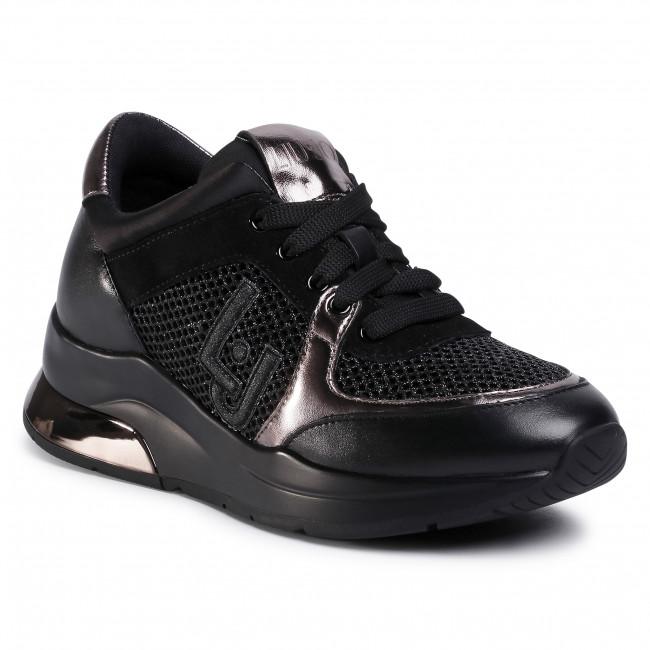 Sneakersy LIU JO - Karlie 12 BF0027 TX003 Black 22222 1