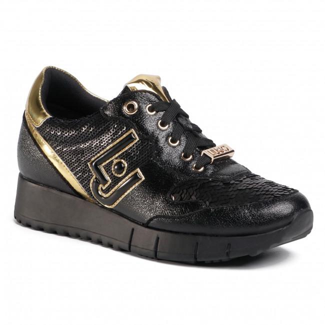 Sneakersy LIU JO - Gigi 2 BF0103 EX006 Black 22222