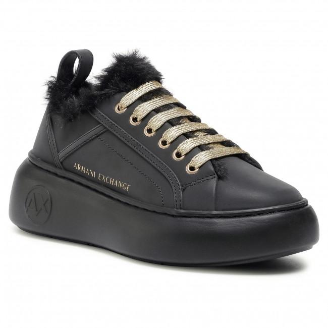Sneakersy ARMANI EXCHANGE - XDX045 XV339 00002 Black