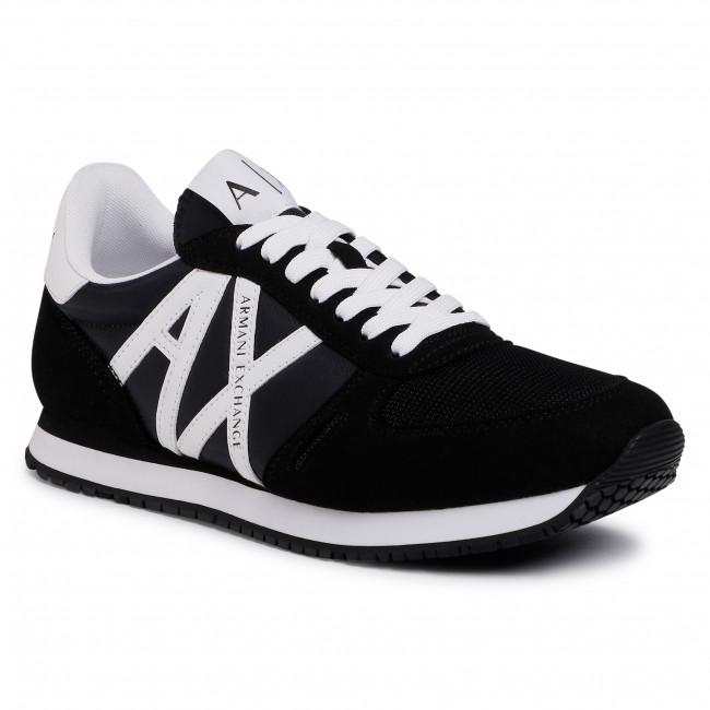 Sneakersy ARMANI EXCHANGE - XUX017 XCC68 K489  Black/White