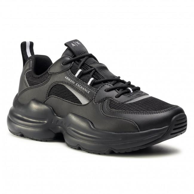 Sneakersy ARMANI EXCHANGE - XUX050 XV203 00986 Black