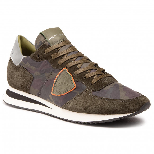 Sneakersy PHILIPPE MODEL - Trpx TZLU CC08 Militaire