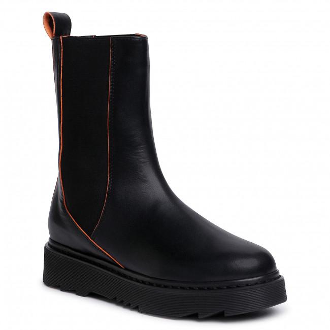 Kotníková obuv s elastickým prvkom L37 - City Of Dreams S61 Black
