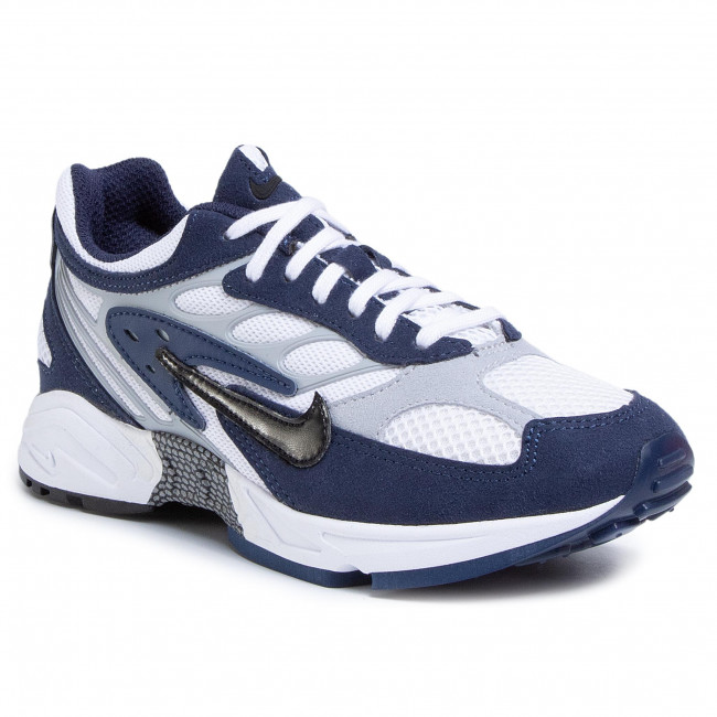 Topánky NIKE - Air Ghost Racer AT5410 400 Midnight Navy/Black/Wolf Grey