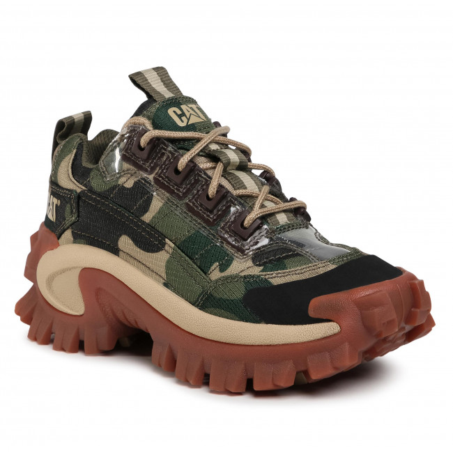 Sneakersy CATERPILLAR - Intruder P110036 Green Camo