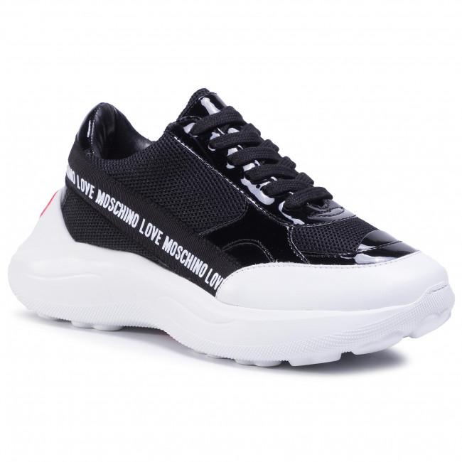 Sneakersy LOVE MOSCHINO - JA15176G1BIN300A Nero