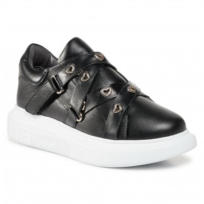 Sneakersy LOVE MOSCHINO - JA15484G0BJA0000 Nero