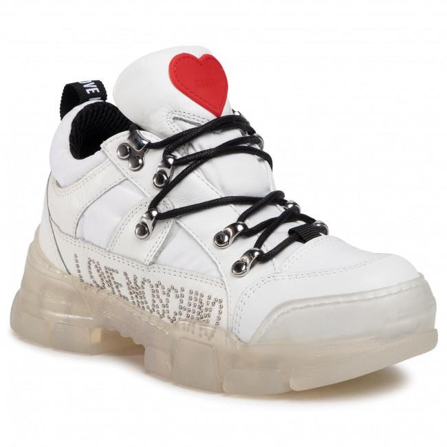 Sneakersy LOVE MOSCHINO - JA15434G0BJ1310A Bianco