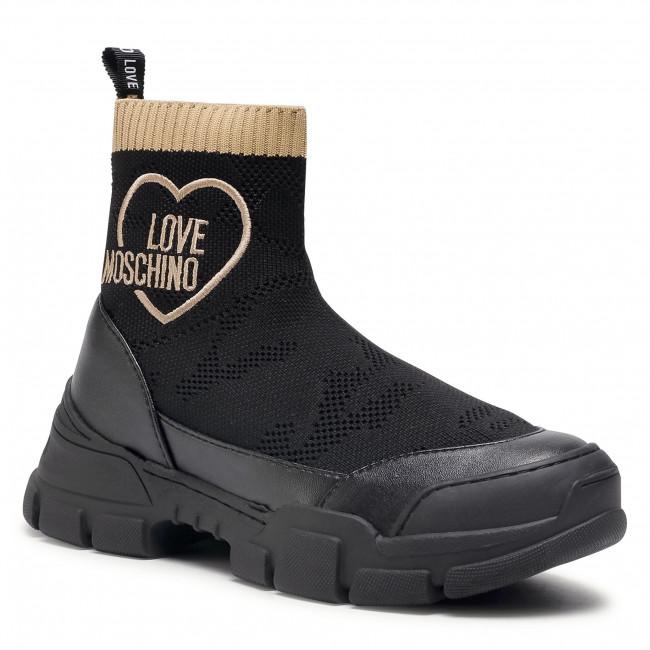 Sneakersy LOVE MOSCHINO - JA15624G0BJ44000 Nero