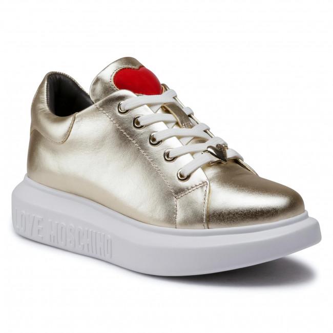 Sneakersy LOVE MOSCHINO - JA15494G0BJE0900 Platino