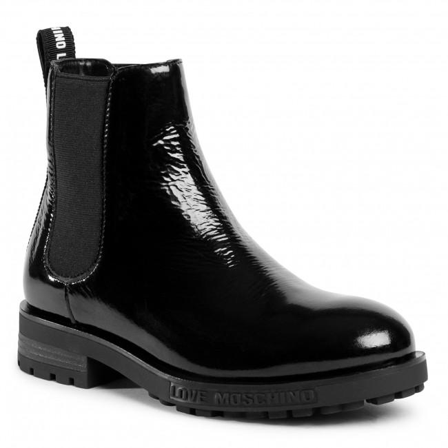 Kotníková obuv s elastickým prvkom LOVE MOSCHINO - JA21364G0BJG0000  Nero