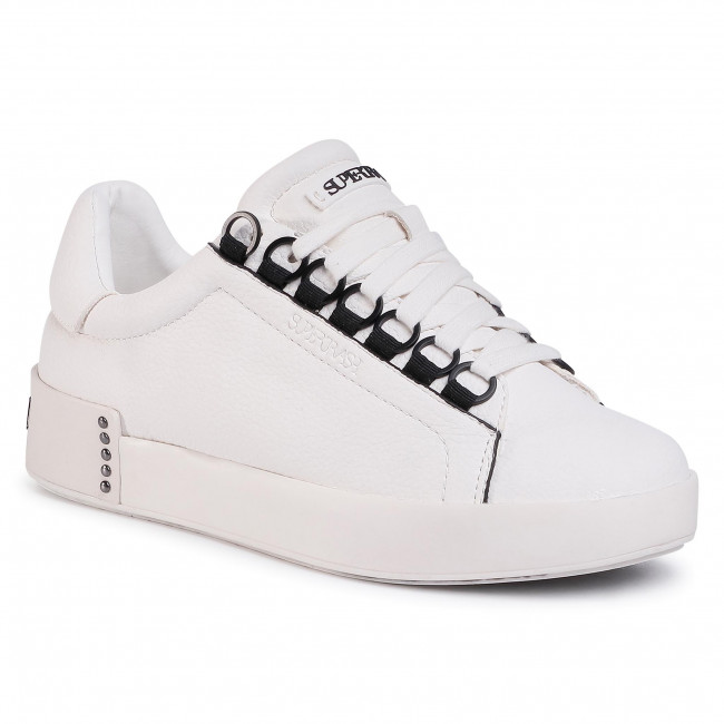 Sneakersy SUPERTRASH - Lina Ced W 2011 001505 Wht/Blk 1909