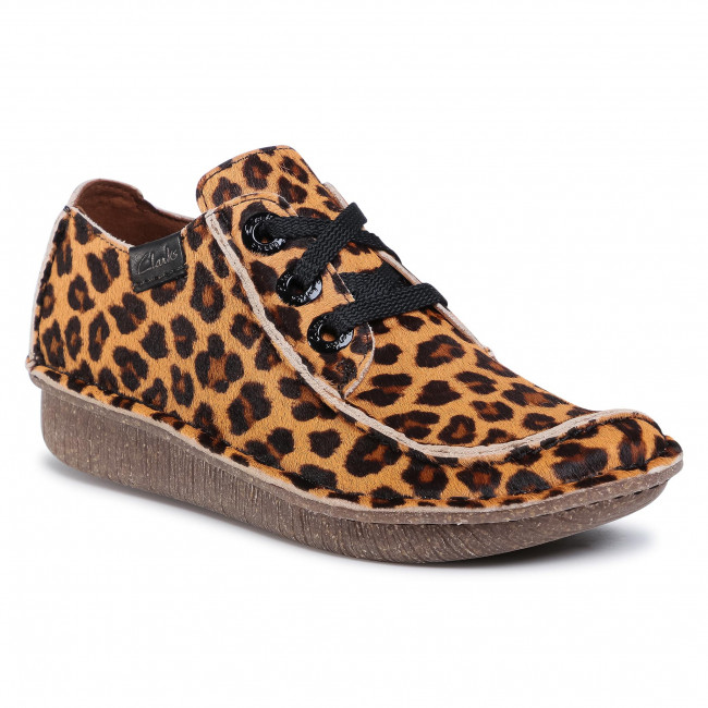 Poltopánky CLARKS - Funny Dream 261515294 Leopard Print